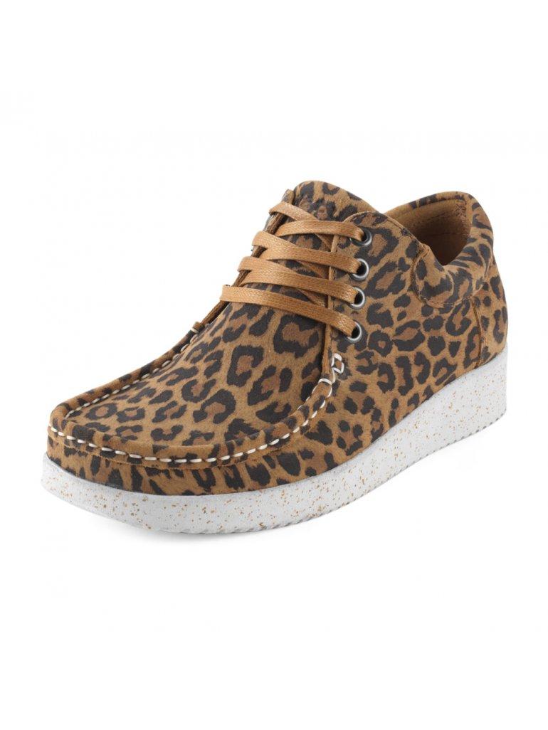 Anna, Suede Leopard