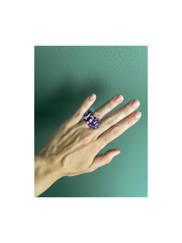 Lucky Ring (Amethyst)