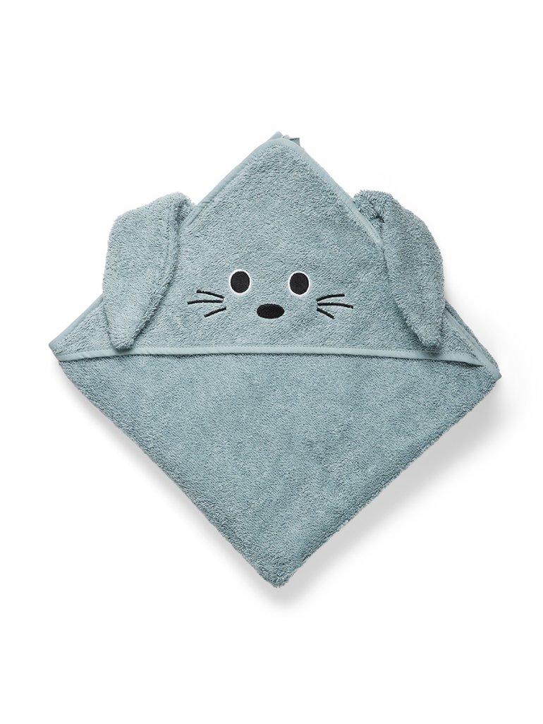 Håndklæde m. hætte (Kanin)